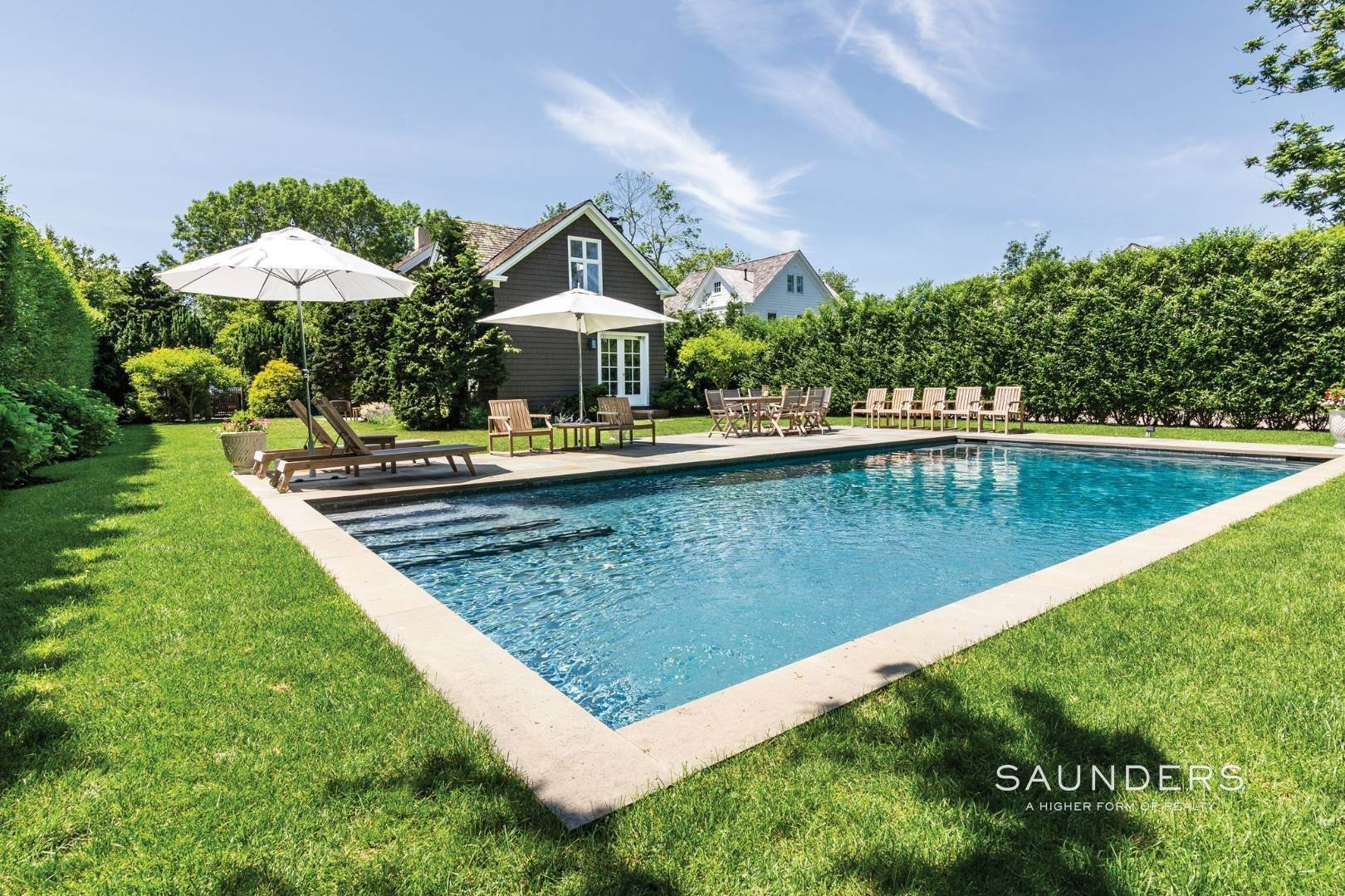 Single Family Homes at Classic Chic In East Hampton Village 104 Buell Lane, East Hampton, East Hampton Town, NY 11937