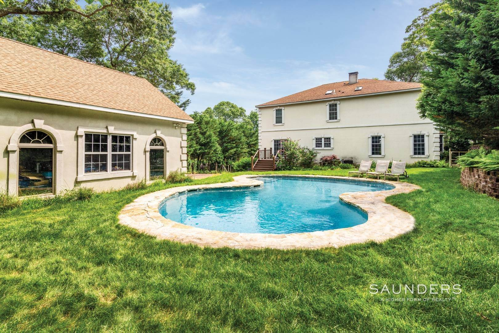3. Single Family Homes for Sale at Pristine Traditional In Desirable Hampton Waters Community 81 Oyster Shores Road, East Hampton, East Hampton Town, NY 11937