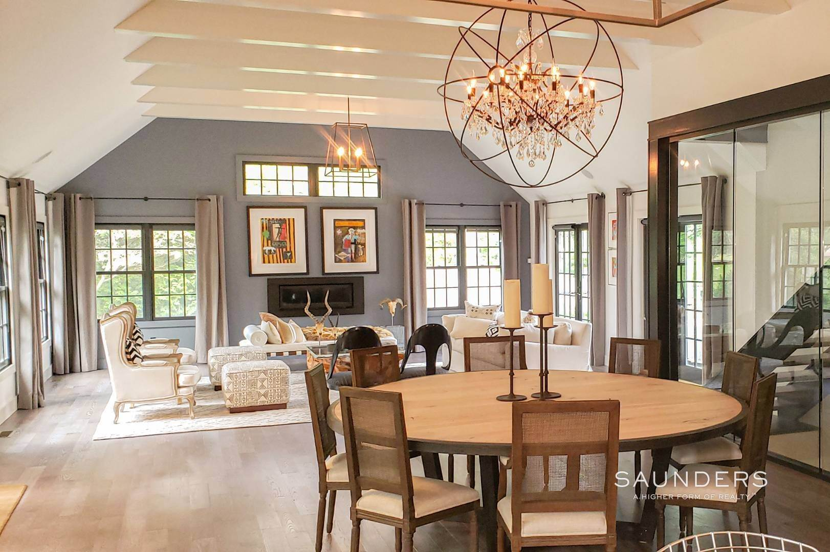 4. Single Family Homes for Sale at Spacious And Private, Consummate Style In Sag Harbor Village 22 Carver Street, Sag Harbor, Southampton Town, NY 11963