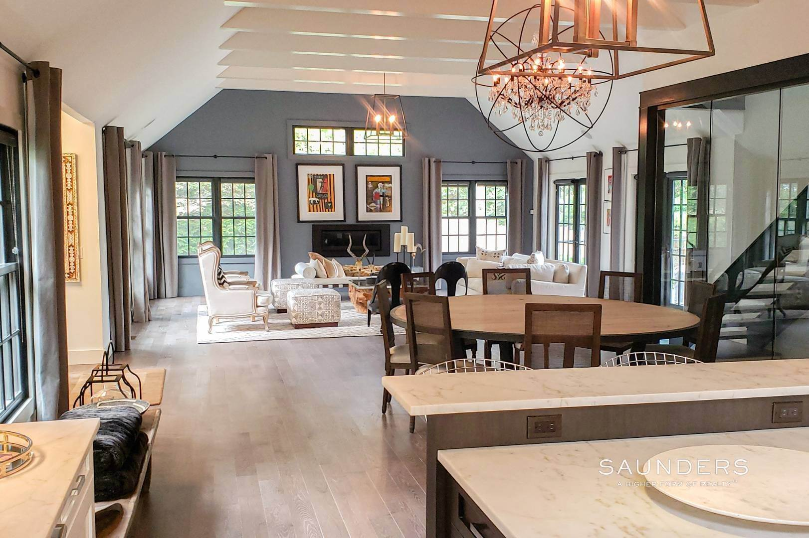 5. Single Family Homes for Sale at Spacious And Private, Consummate Style In Sag Harbor Village 22 Carver Street, Sag Harbor, Southampton Town, NY 11963