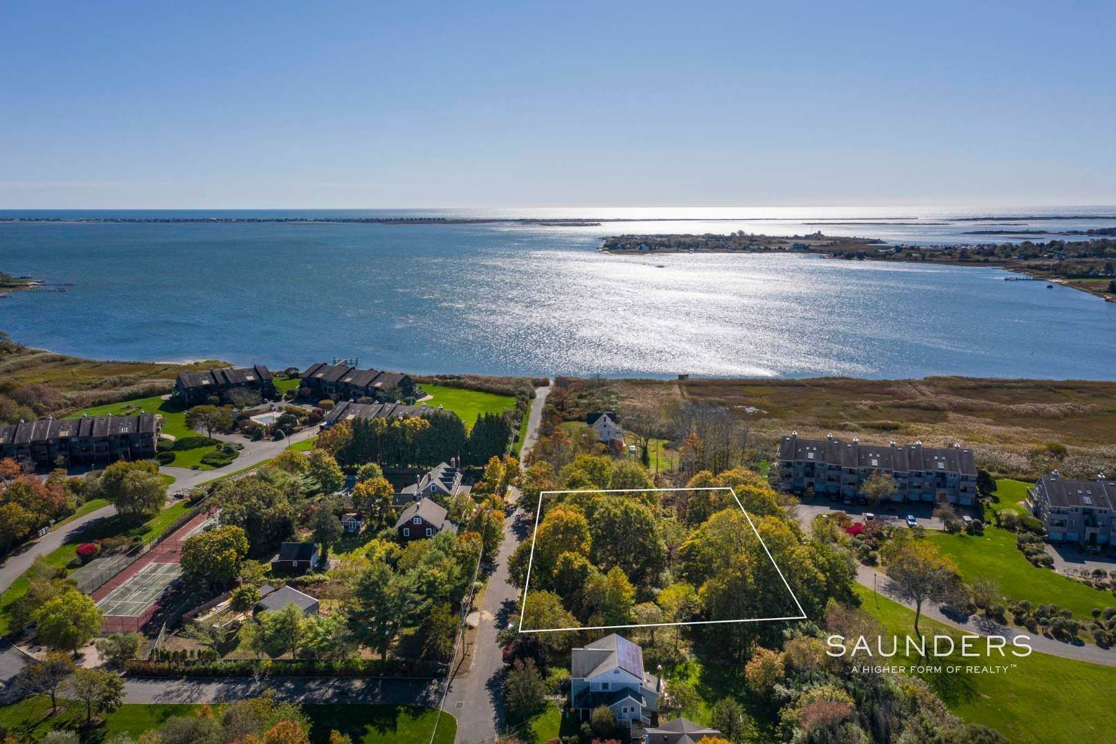 Land for Sale at Beautiful Land Just-Shy Acre With Water Views Lot A Watchogue Avenue, East Moriches, Hamptons Fringe, NY 11940