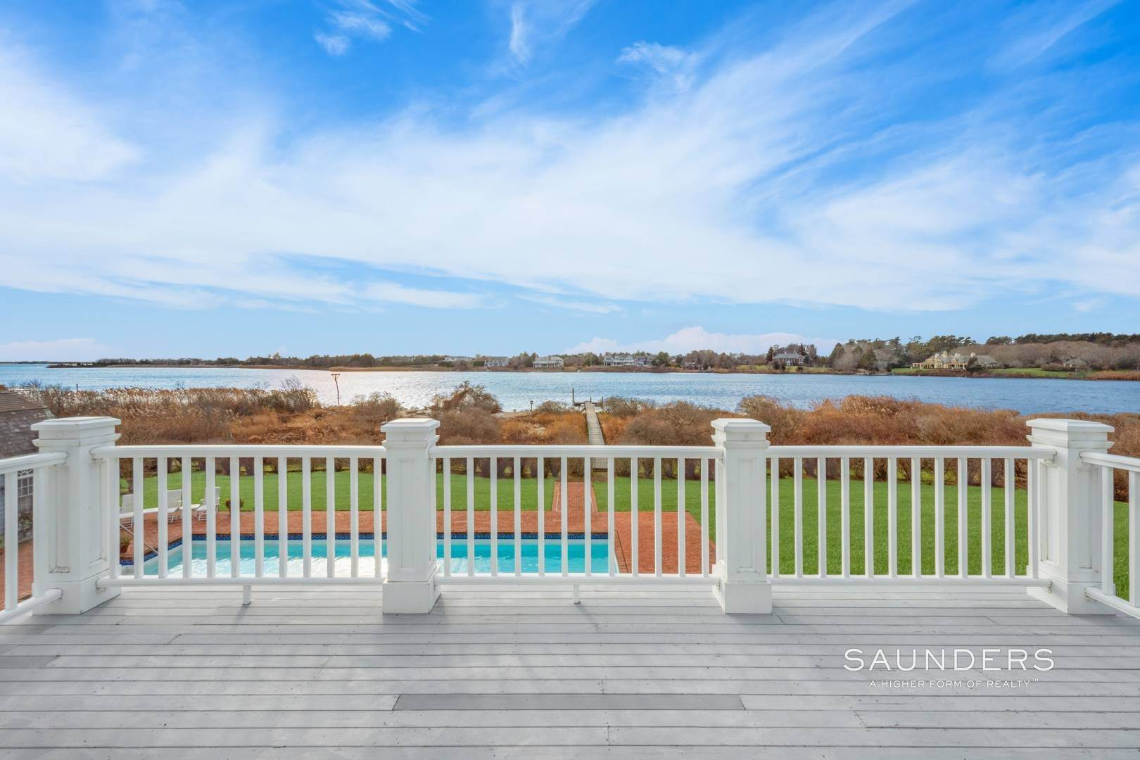 19. Single Family Homes for Sale at Mecox Waterfront - Privacy + Sunsets Water Mill, Southampton Town, NY 11976