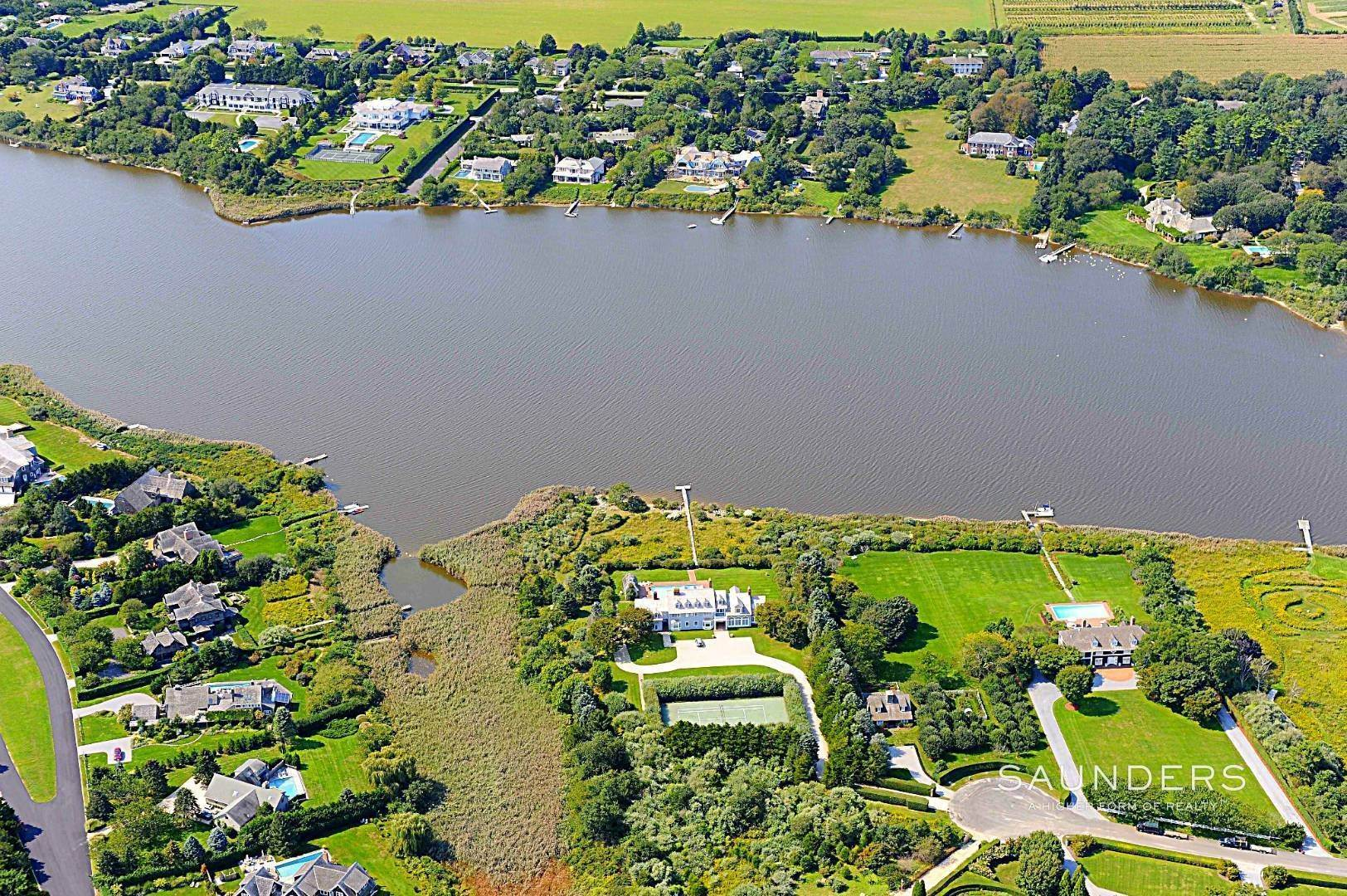 Single Family Homes for Sale at Mecox Waterfront - Privacy + Sunsets Water Mill, Southampton Town, NY 11976