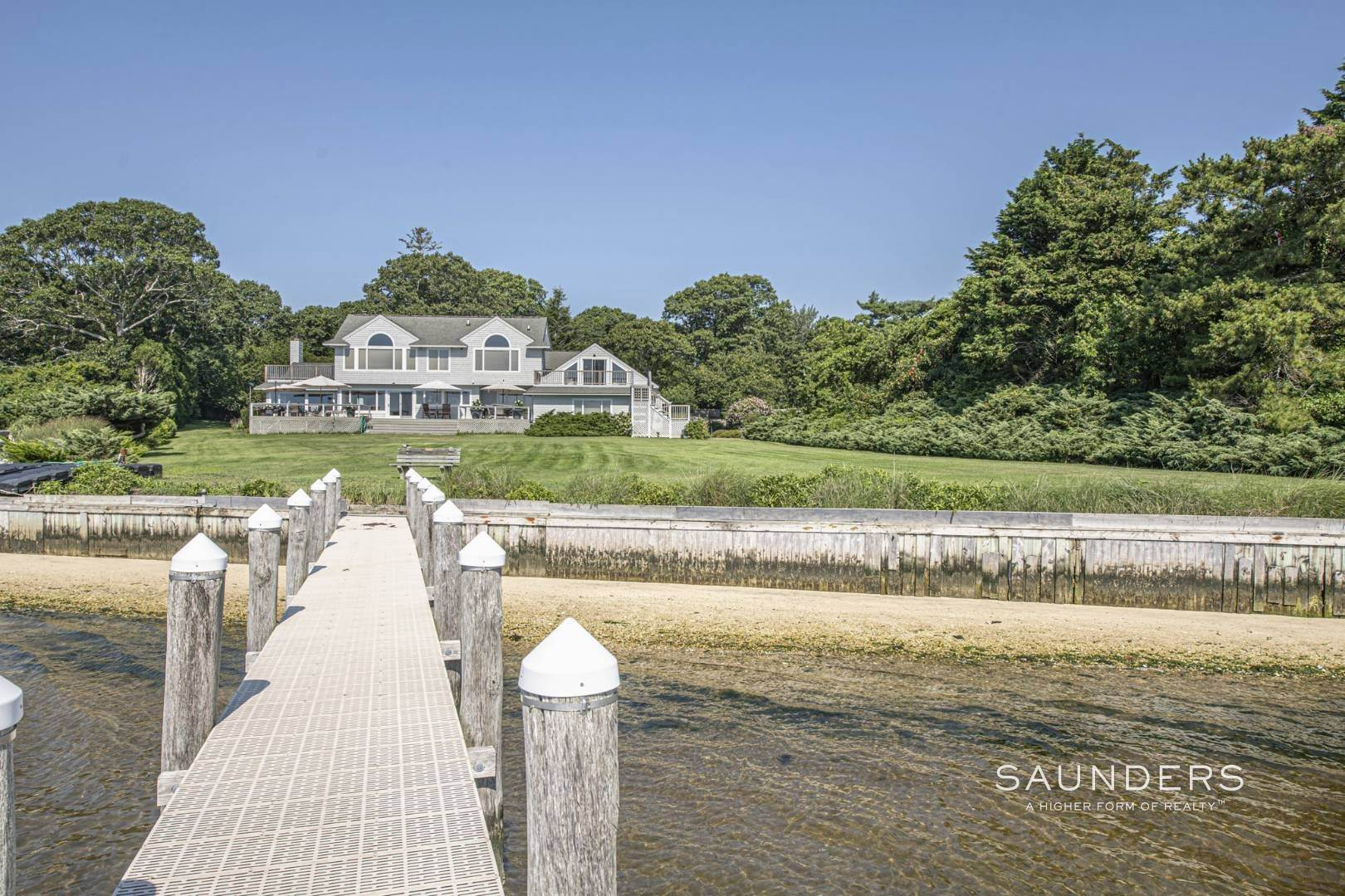 2. Single Family Homes for Sale at Open Bayfront And Boater's Dream 14 Carmel Lane, Hampton Bays, Southampton Town, NY 11946