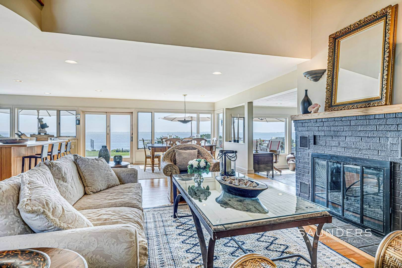 9. Single Family Homes for Sale at Open Bayfront And Boater's Dream 14 Carmel Lane, Hampton Bays, Southampton Town, NY 11946