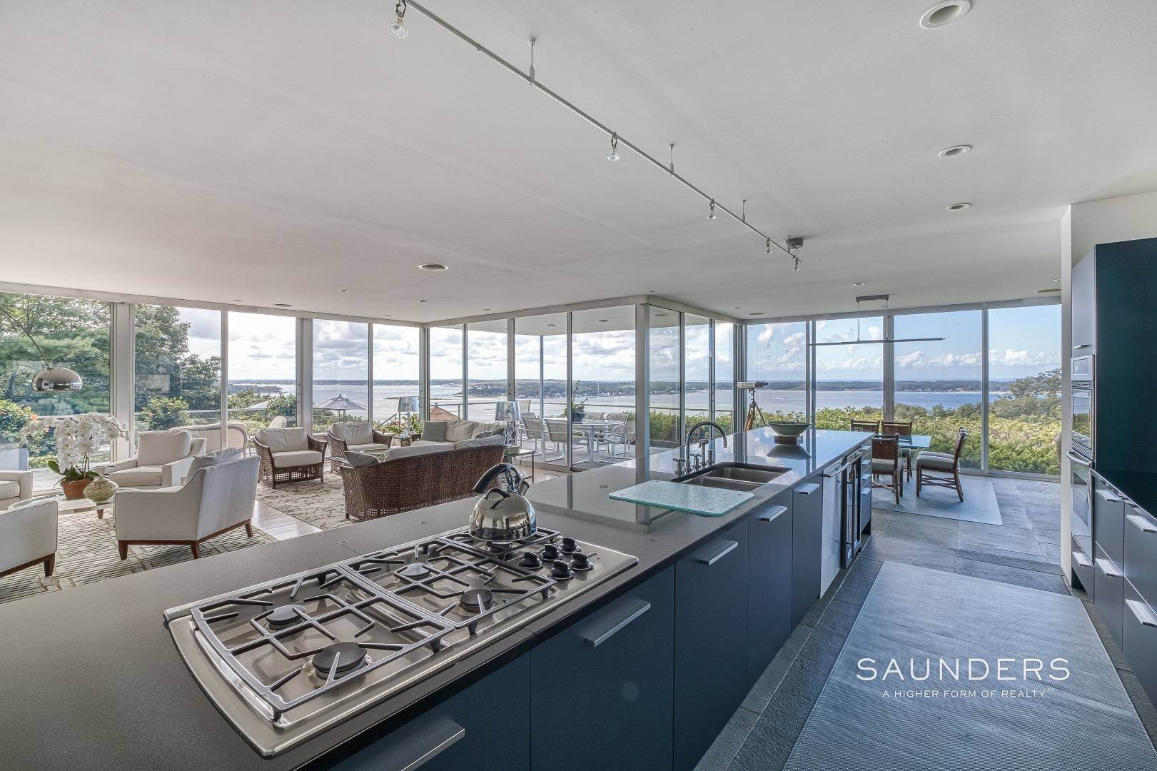 35. Single Family Homes for Sale at Shelter Island Classic Modern 42 Prospect Avenue And 23 Serpentine Drive, Shelter Island Heights, Shelter Island, NY 11965