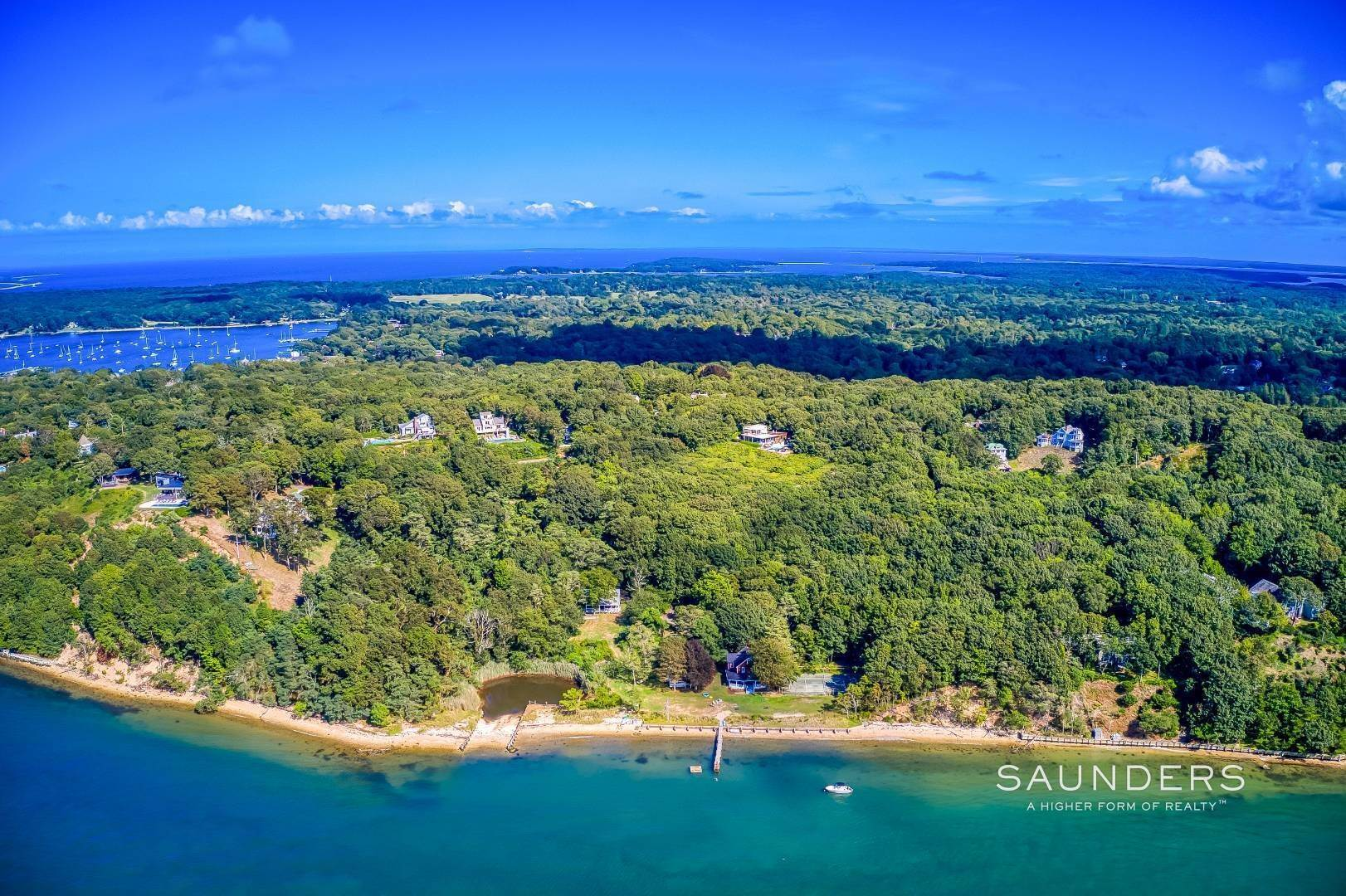 49. Single Family Homes for Sale at Shelter Island Classic Modern 42 Prospect Avenue And 23 Serpentine Drive, Shelter Island Heights, Shelter Island, NY 11965