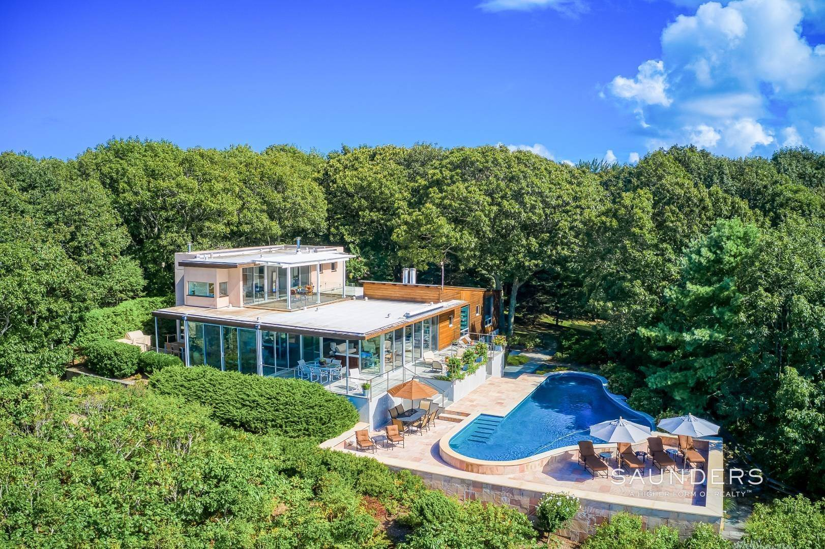 Single Family Homes for Sale at Shelter Island Classic Modern 42 Prospect Avenue And 23 Serpentine Drive, Shelter Island Heights, Shelter Island, NY 11965