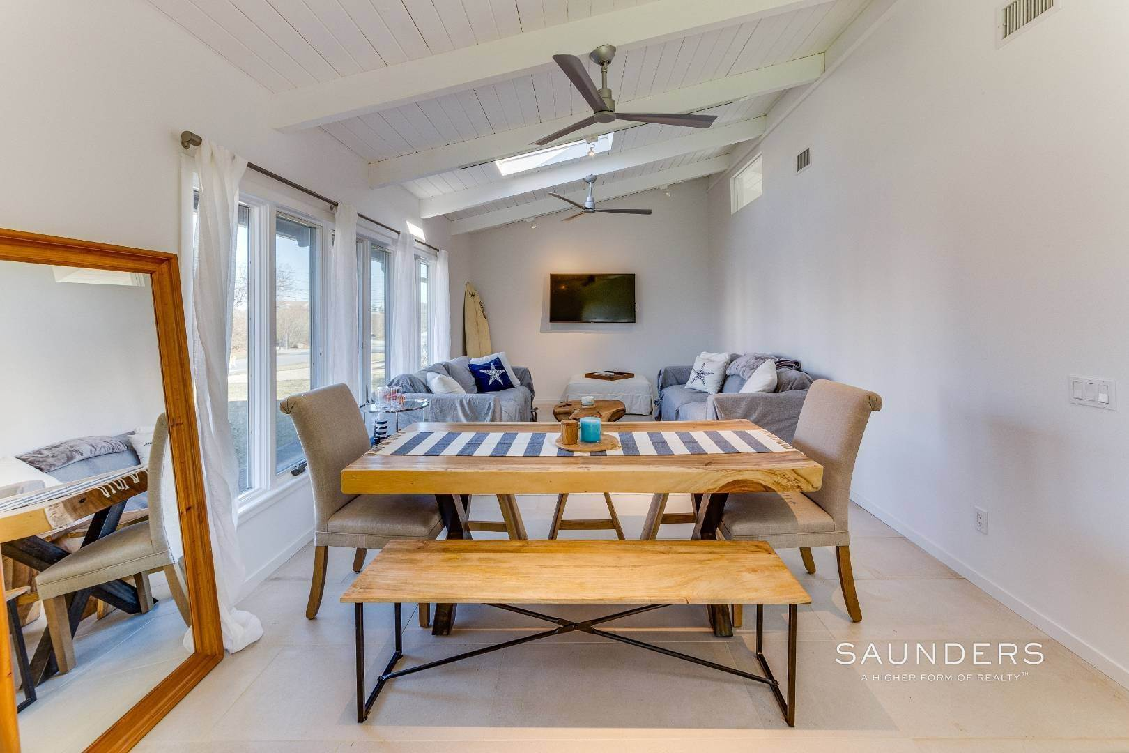 Single Family Homes at Renovated Chic Beach Leisurama W/ Pool In Montauk Culloden Shore 143 Soundview Drive, Montauk, East Hampton Town, NY 11954