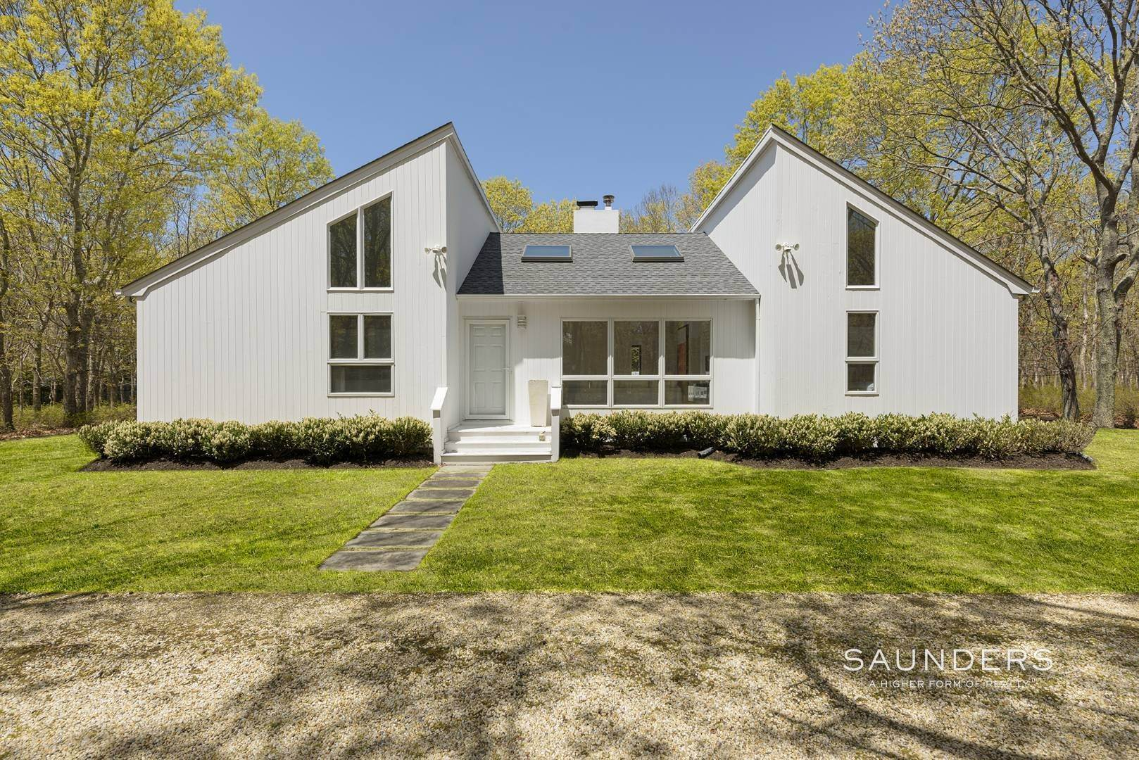 Single Family Homes at Chic Contemporary 108 Merchants Path, Sagaponack, Southampton Town, NY 11962