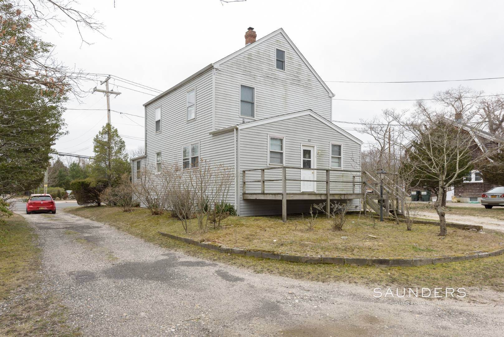 5. Multi-Family Homes for Sale at Flanders Investment Property Opportunity 404 And 406 Flanders Road, Riverside, Southampton Town, NY 11901