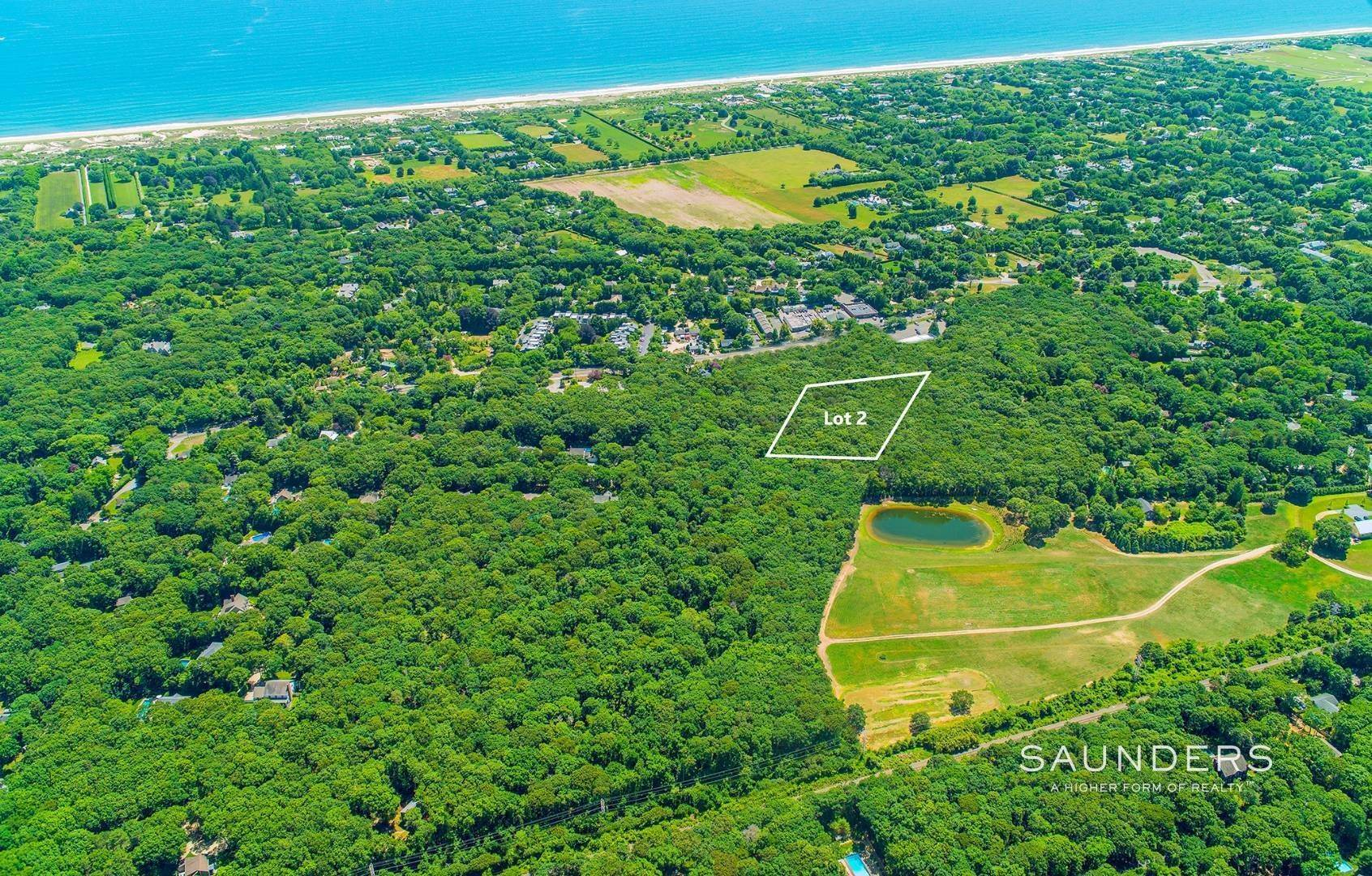 Land for Sale at Estate-Caliber Village-Fringe Building Parcel 11 Holly Place, East Hampton, East Hampton Town, NY 11937