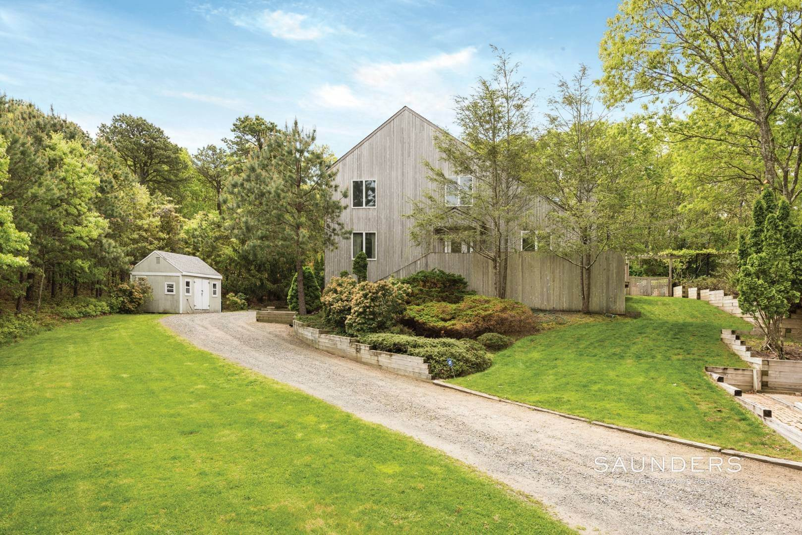 Single Family Homes at Water Mill Light-Filled Postmodern With Pool 126 Middle Line Highway, Southampton, Southampton Town, NY 11968