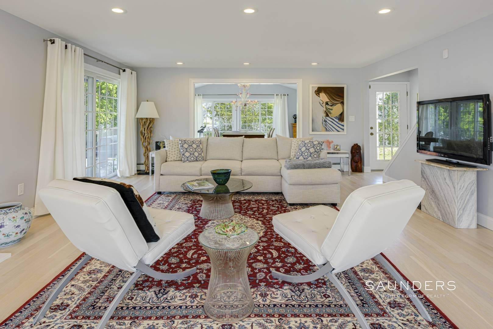 6. Single Family Homes for Sale at Renovated Beach House 39 Inlet Road East, Southampton, Southampton Town, NY 11968