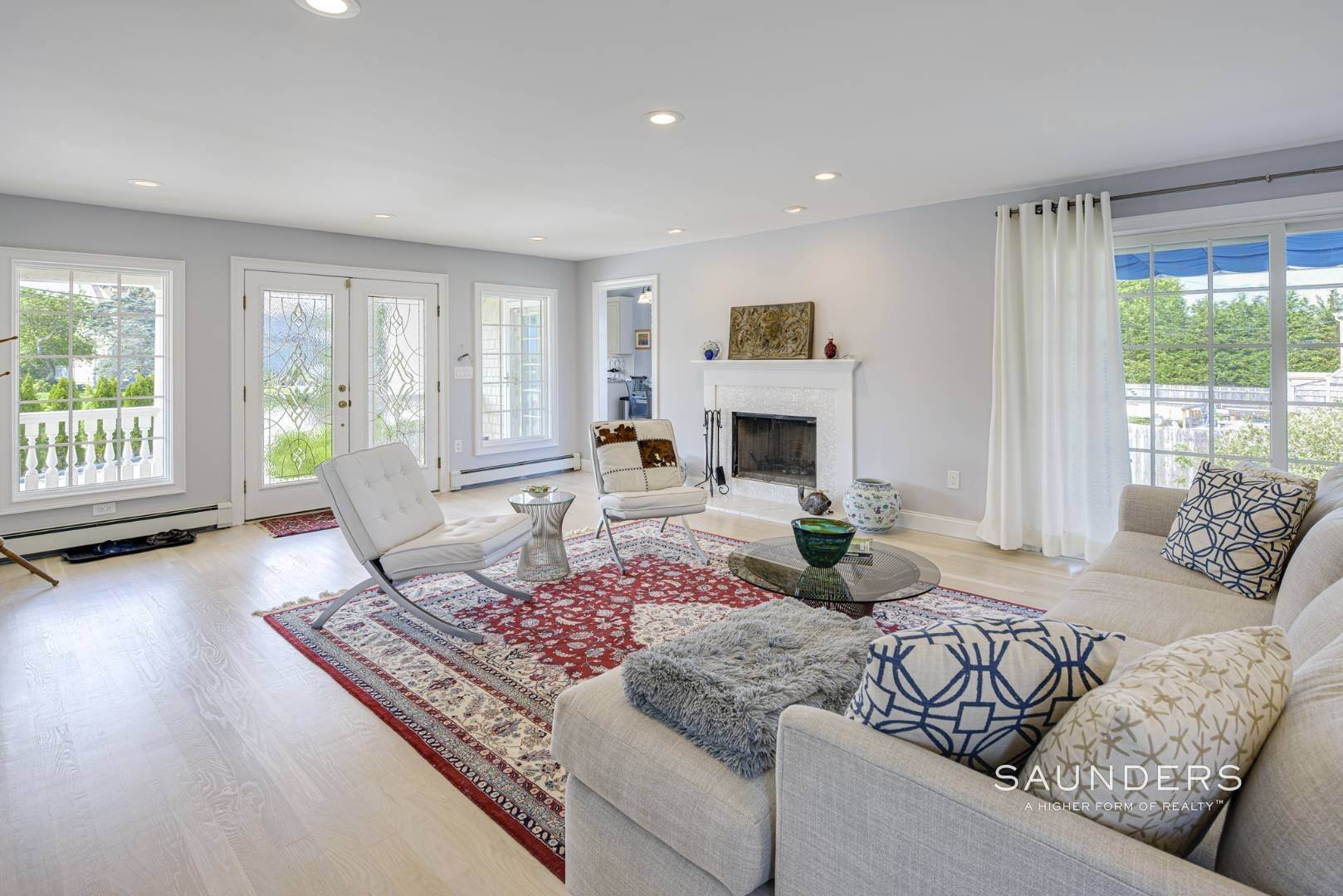 7. Single Family Homes for Sale at Renovated Beach House 39 Inlet Road East, Southampton, Southampton Town, NY 11968