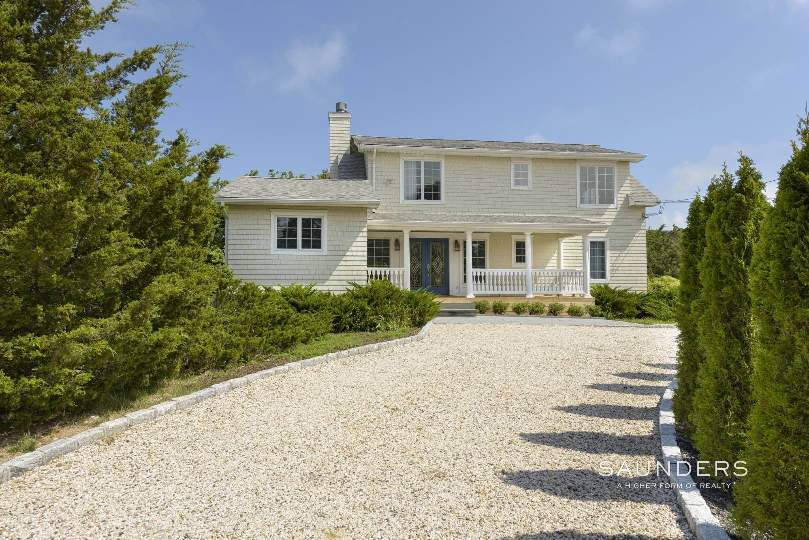 3. Single Family Homes for Sale at Renovated Beach House 39 Inlet Road East, Southampton, Southampton Town, NY 11968