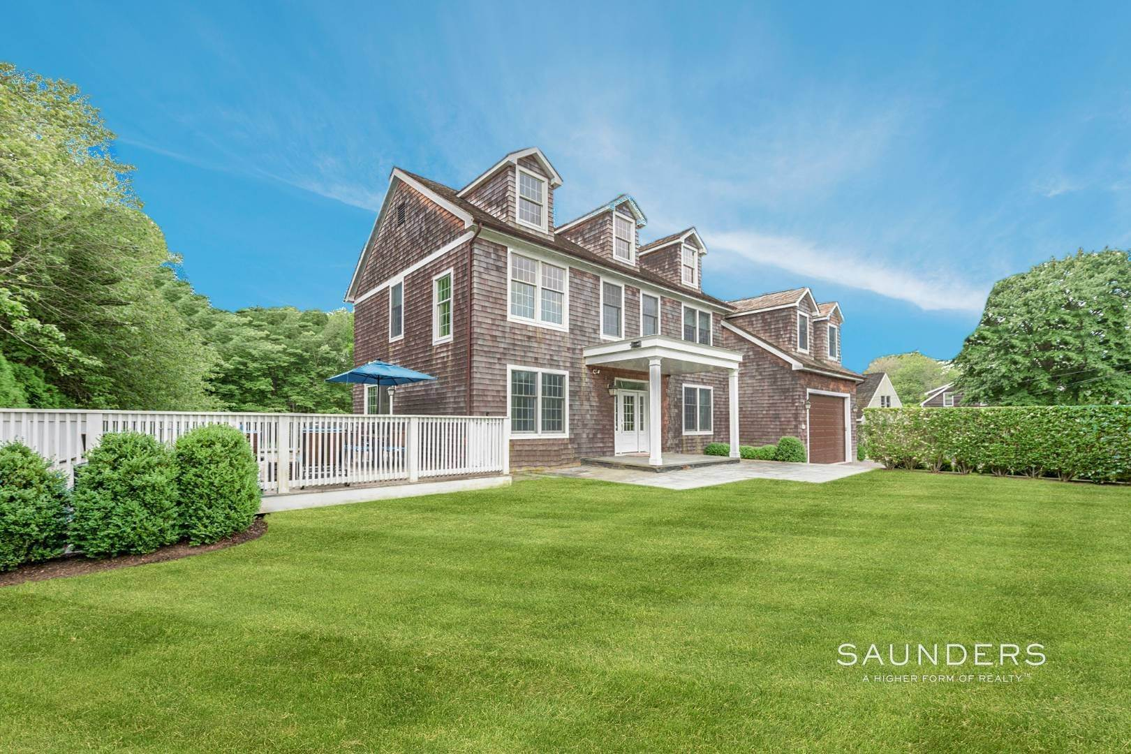Single Family Homes for Sale at Turnkey Village South With Pool 207 Oak Street, Bridgehampton, Southampton Town, NY 11932