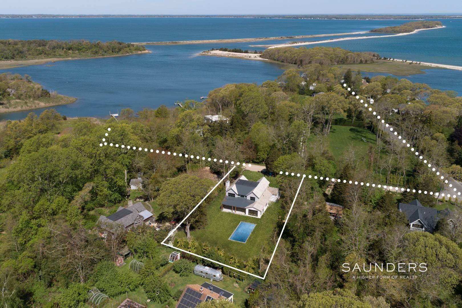 2. Single Family Homes for Sale at Sag Harbor, Southampton Town, NY 11963