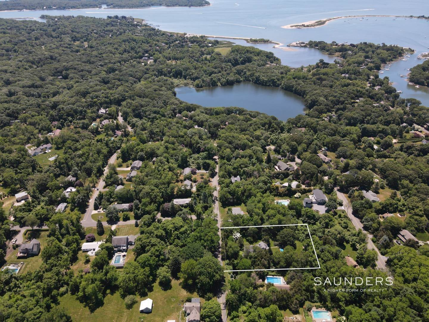 Single Family Homes for Sale at Shelter Island European Country Modern With Pool 30 Baldwin Road, Shelter Island, NY 11964