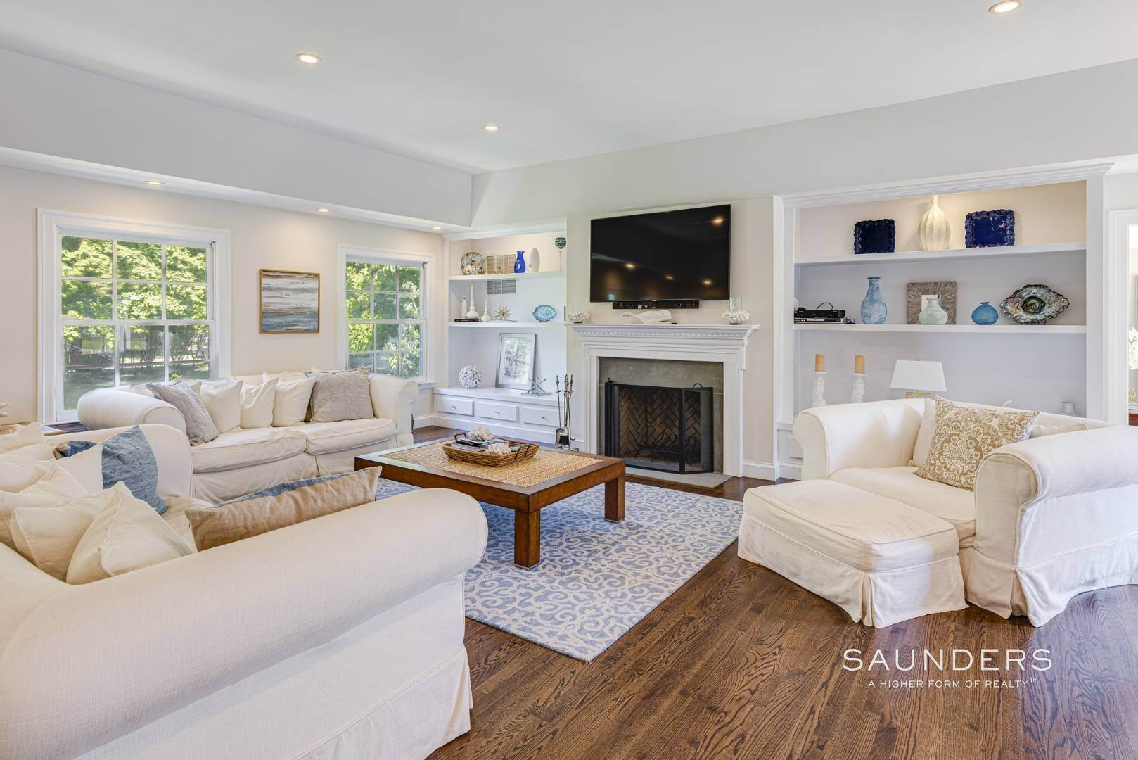 4. Single Family Homes for Sale at Spacious Postmodern With Pool And Lush Landscape 77 Sebonac Inlet Road, Southampton, Southampton Town, NY 11968