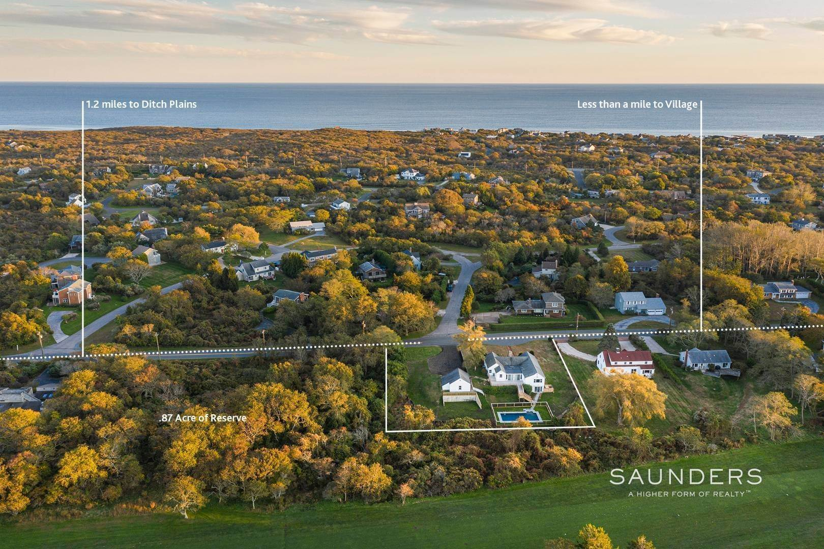 Single Family Homes for Sale at One Of A Kind Offered For The First Time! 100 South Fairview Avenue, Montauk, East Hampton Town, NY 11954