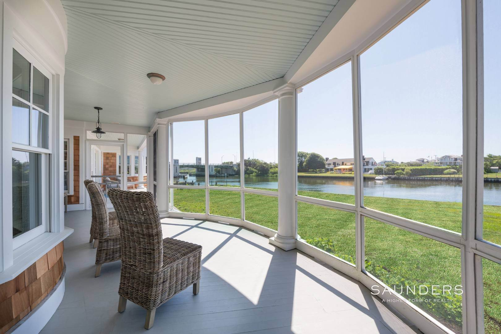 10. Single Family Homes at Fabulous Bay Rental For August In Quogue 33 Ogden Lane, Quogue Village, Southampton Town, NY 11959