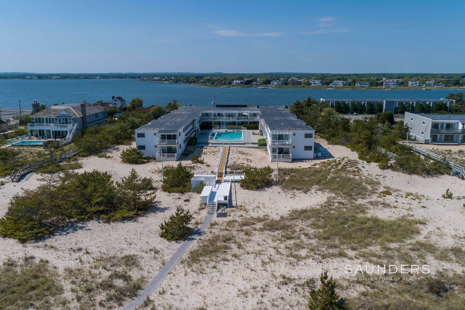 Co-op Properties for Sale at Oceanfront Living With Sunset Views 281 Dune Road, #8b And 9b, Westhampton Beach Village, Southampton Town, NY 11978
