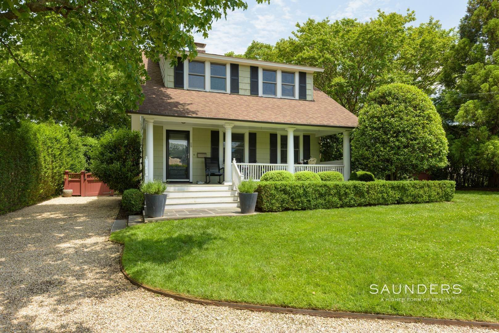 Single Family Homes for Sale at Southampton Village Updated Classic Close To The Shoreline 110 Old Town Road, Southampton, Southampton Town, NY 11968