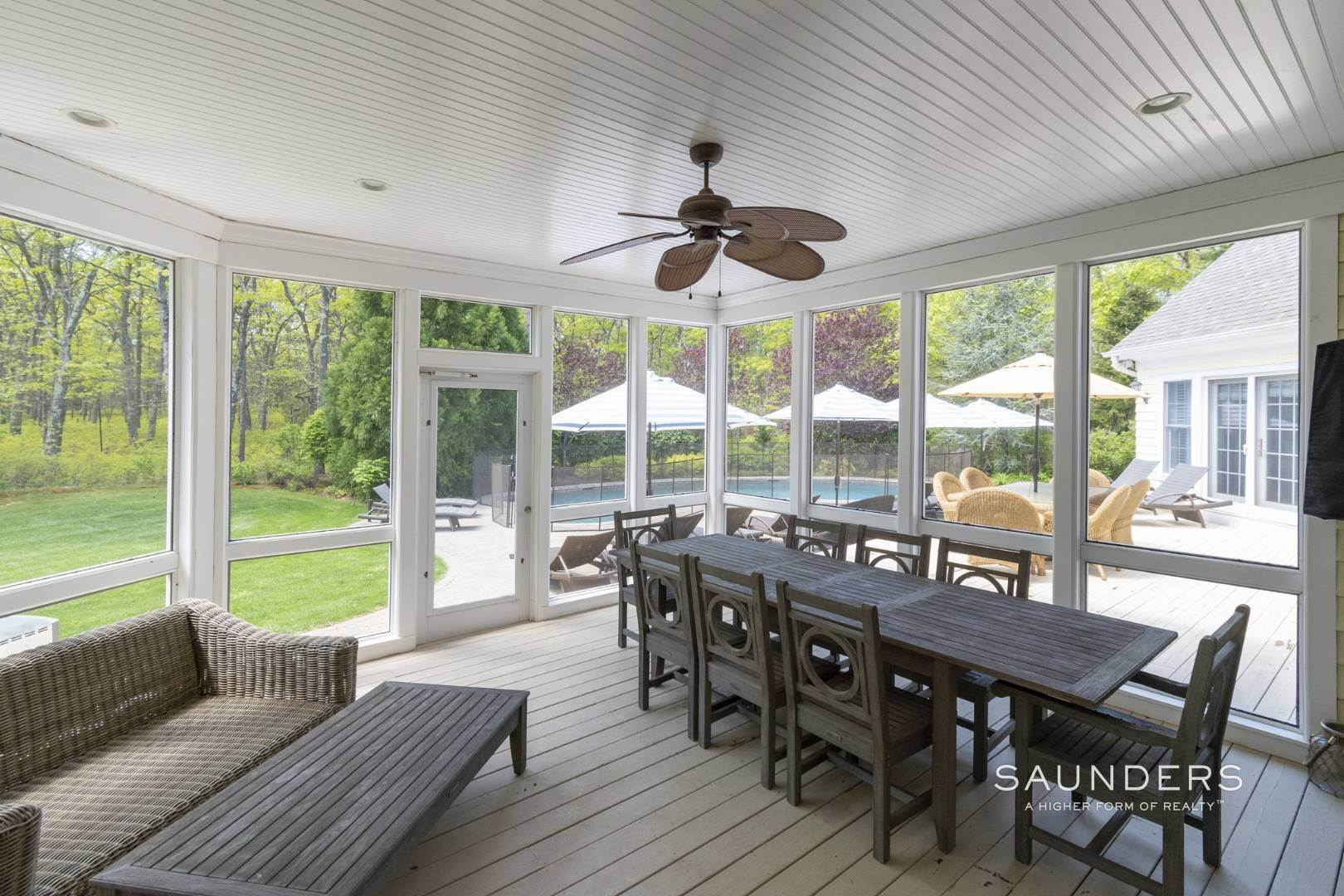 7. Single Family Homes for Sale at East Hampton Gated With Pool On 2 Acres 13 Old Hollow Lane, East Hampton, East Hampton Town, NY 11937