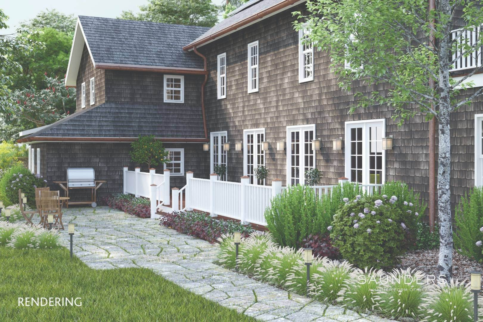 2. Single Family Homes for Sale at Amagansett Proposed New Construction 36 Fresh Pond Road, Amagansett, East Hampton Town, NY 11930