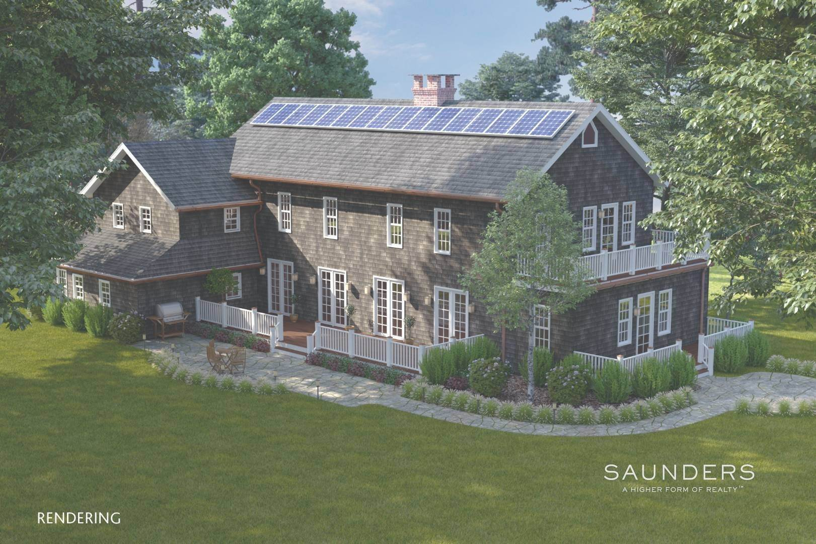 3. Single Family Homes for Sale at Amagansett Proposed New Construction 36 Fresh Pond Road, Amagansett, East Hampton Town, NY 11930