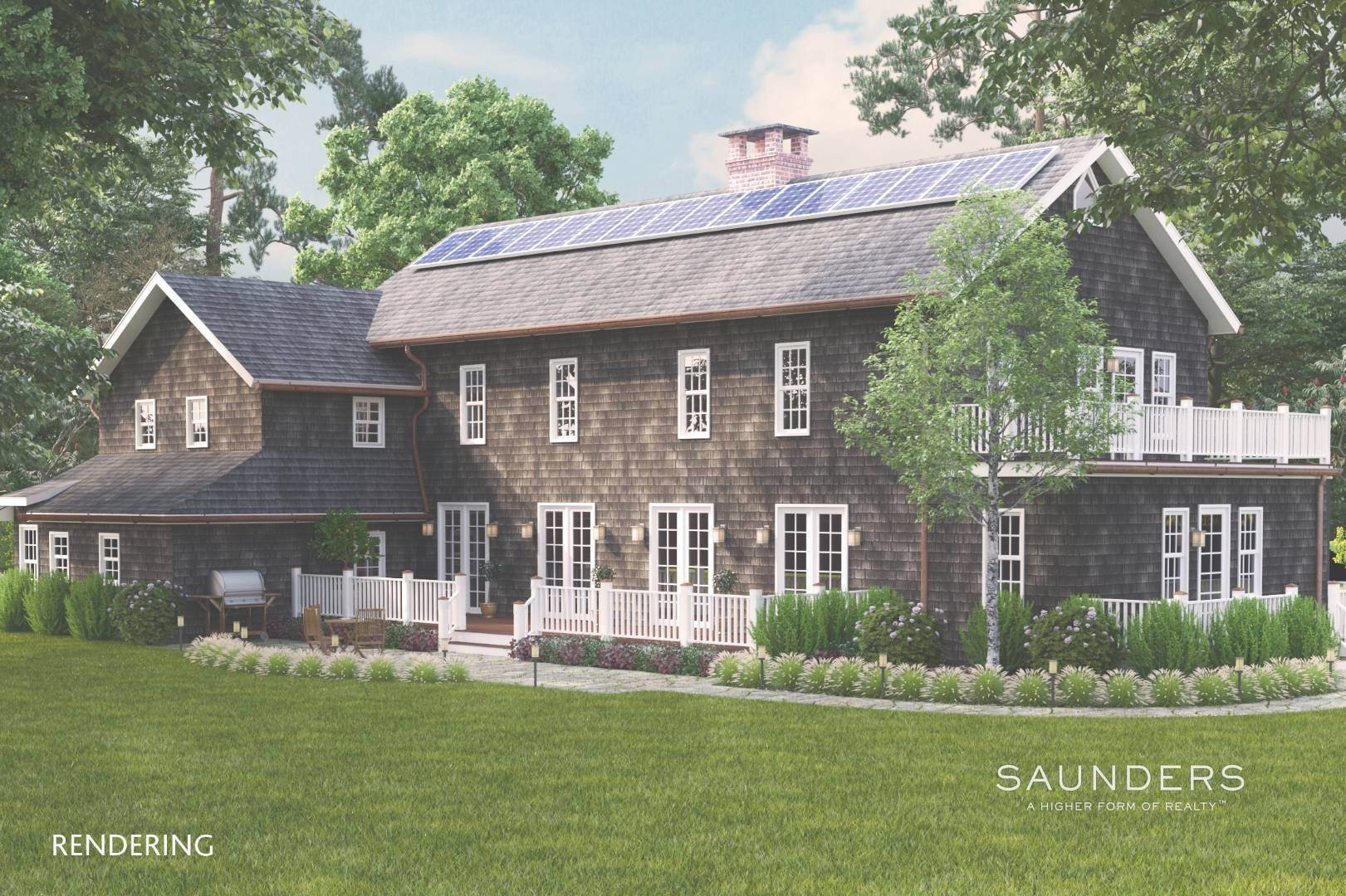 Single Family Homes for Sale at Amagansett Proposed New Construction 36 Fresh Pond Road, Amagansett, East Hampton Town, NY 11930
