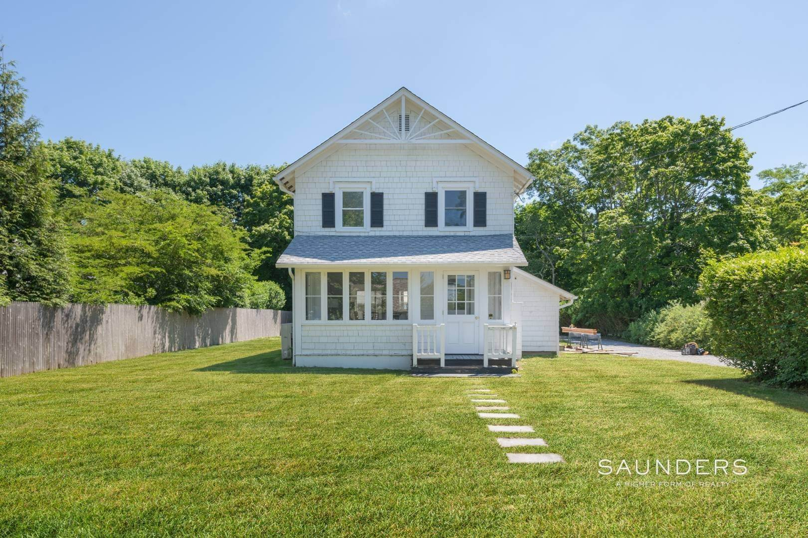Single Family Homes for Sale at Charming Quogue Cottage South Of The Highway 34 Lamb Avenue, Quogue Village, Southampton Town, NY 11959