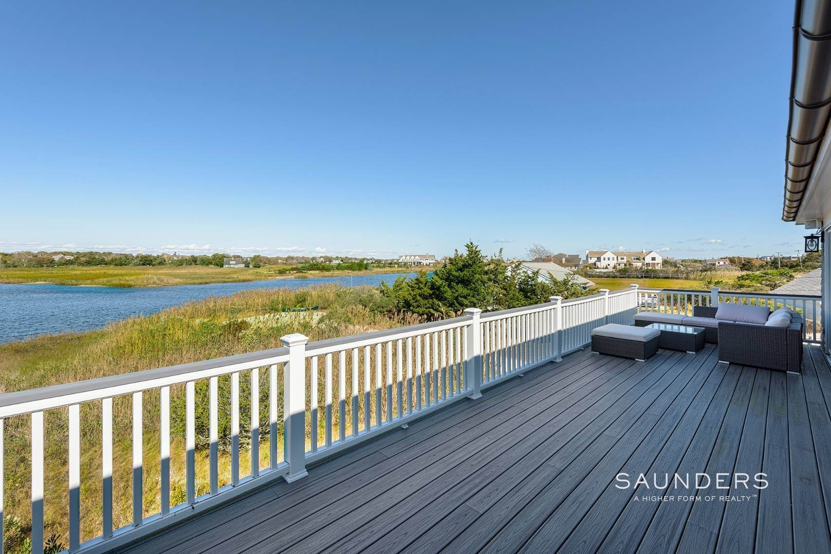 18. Single Family Homes for Sale at Quogue Waterfront Beauty 115 Dune Road, Quogue Village, Southampton Town, NY 11959