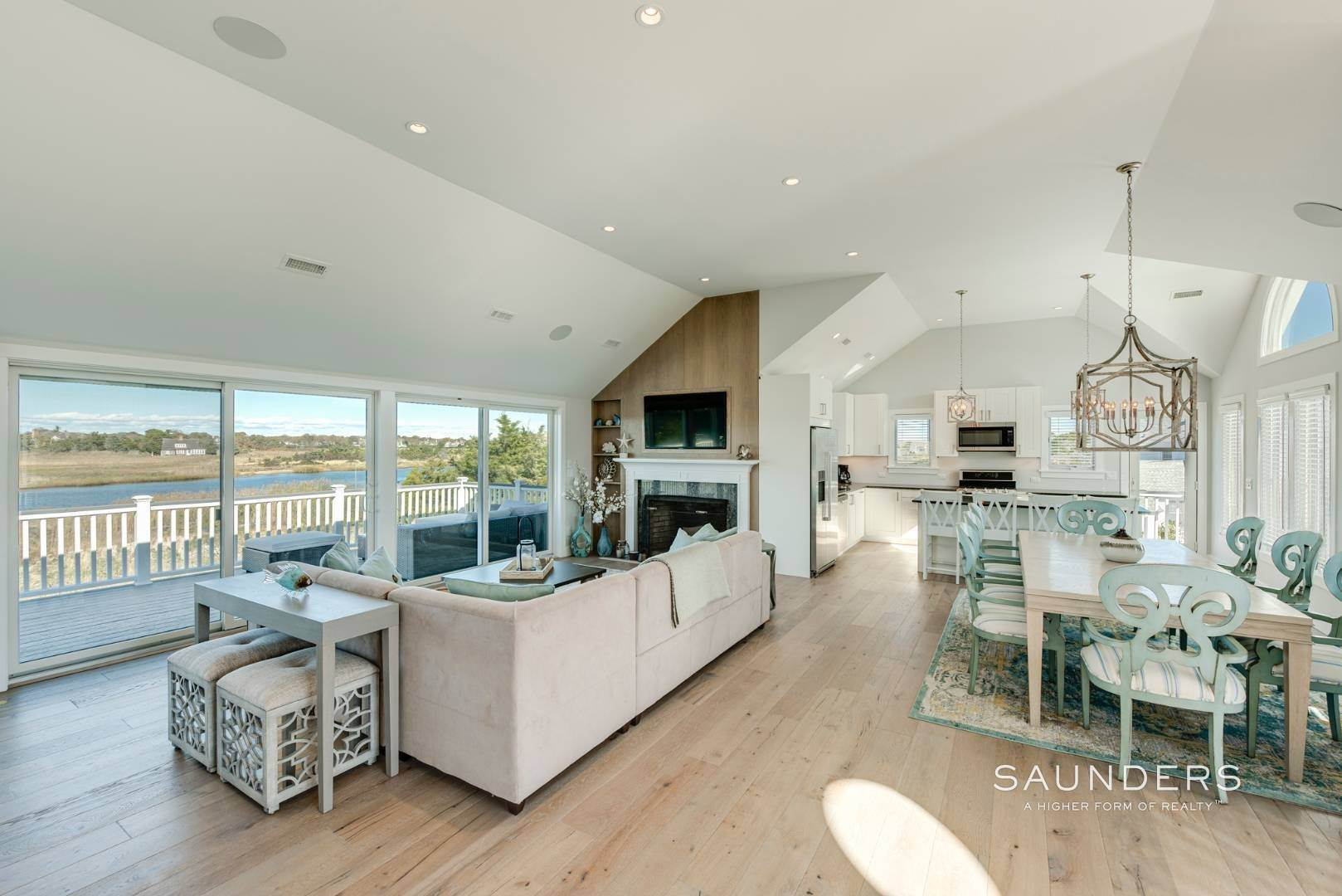 7. Single Family Homes for Sale at Quogue Waterfront Beauty 115 Dune Road, Quogue Village, Southampton Town, NY 11959