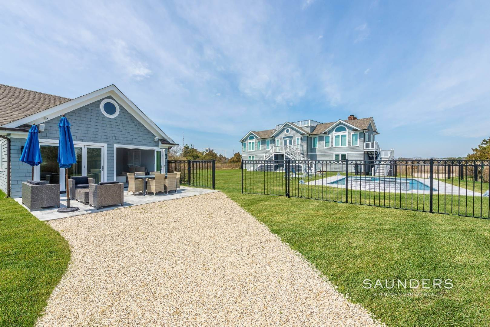 21. Single Family Homes for Sale at Quogue Waterfront Beauty 115 Dune Road, Quogue Village, Southampton Town, NY 11959