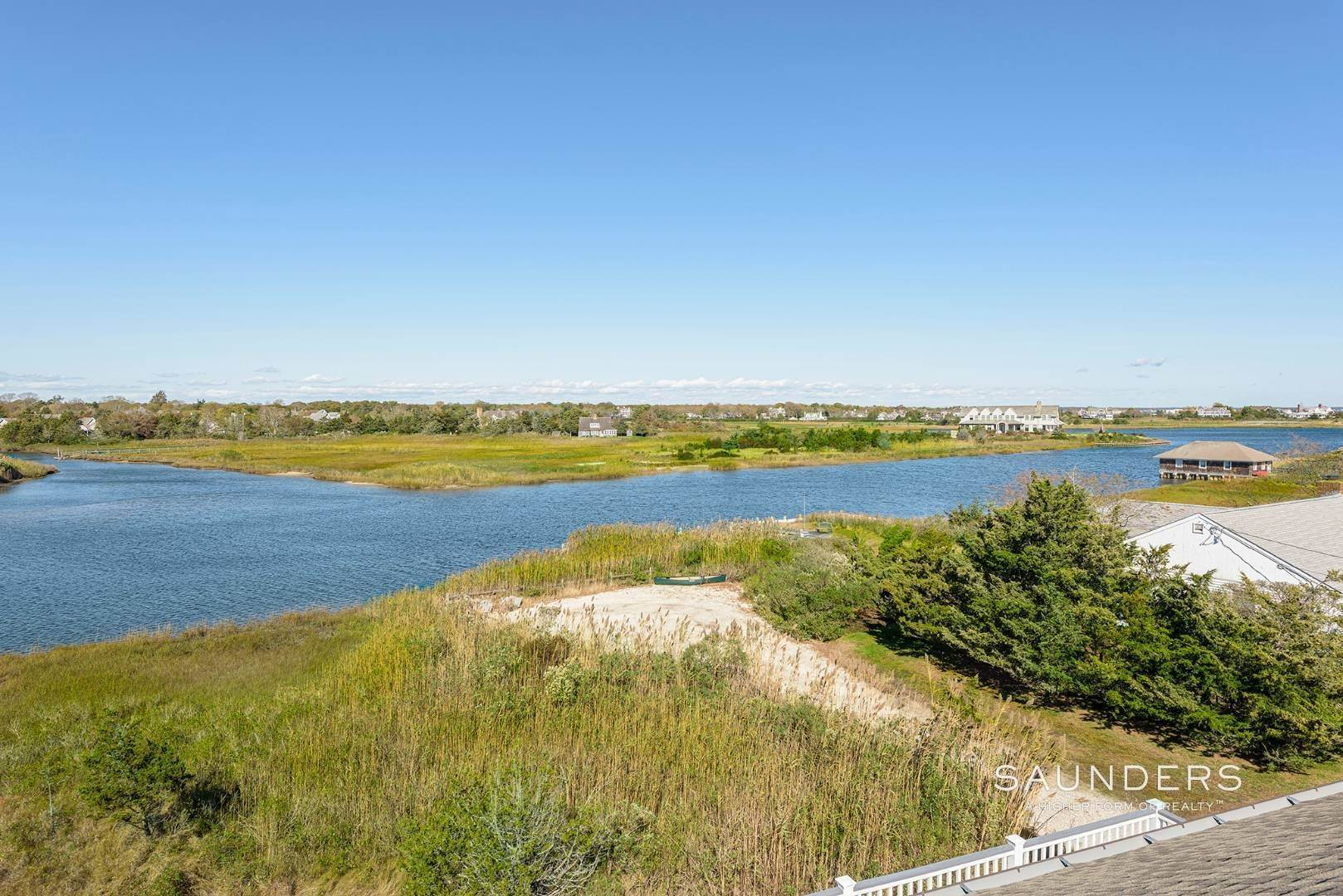 20. Single Family Homes for Sale at Quogue Waterfront Beauty 115 Dune Road, Quogue Village, Southampton Town, NY 11959