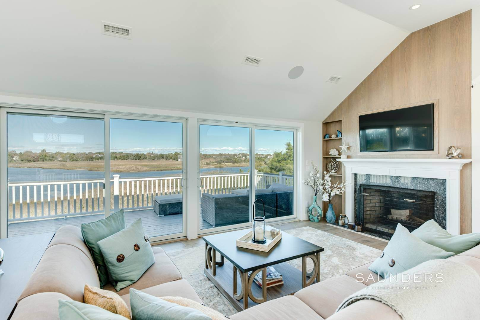 2. Single Family Homes for Sale at Quogue Waterfront Beauty 115 Dune Road, Quogue Village, Southampton Town, NY 11959