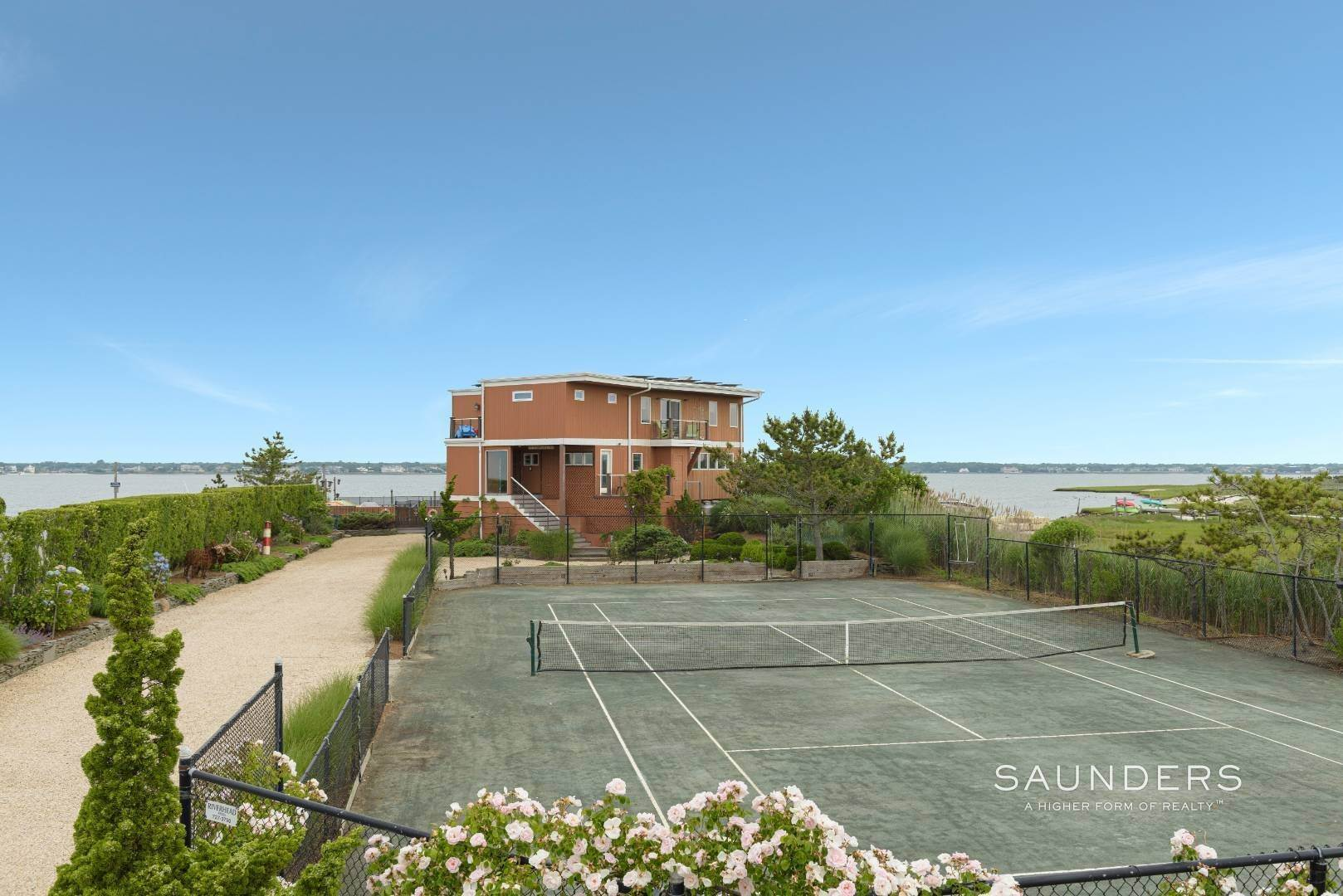 4. Single Family Homes for Sale at Bayfront Paradise 570 Dune Road, Westhampton, Southampton Town, NY 11977