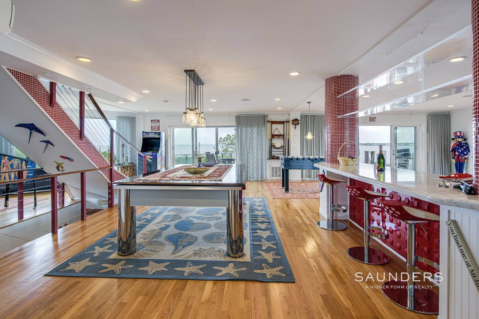 12. Single Family Homes for Sale at Bayfront Paradise 570 Dune Road, Westhampton, Southampton Town, NY 11977