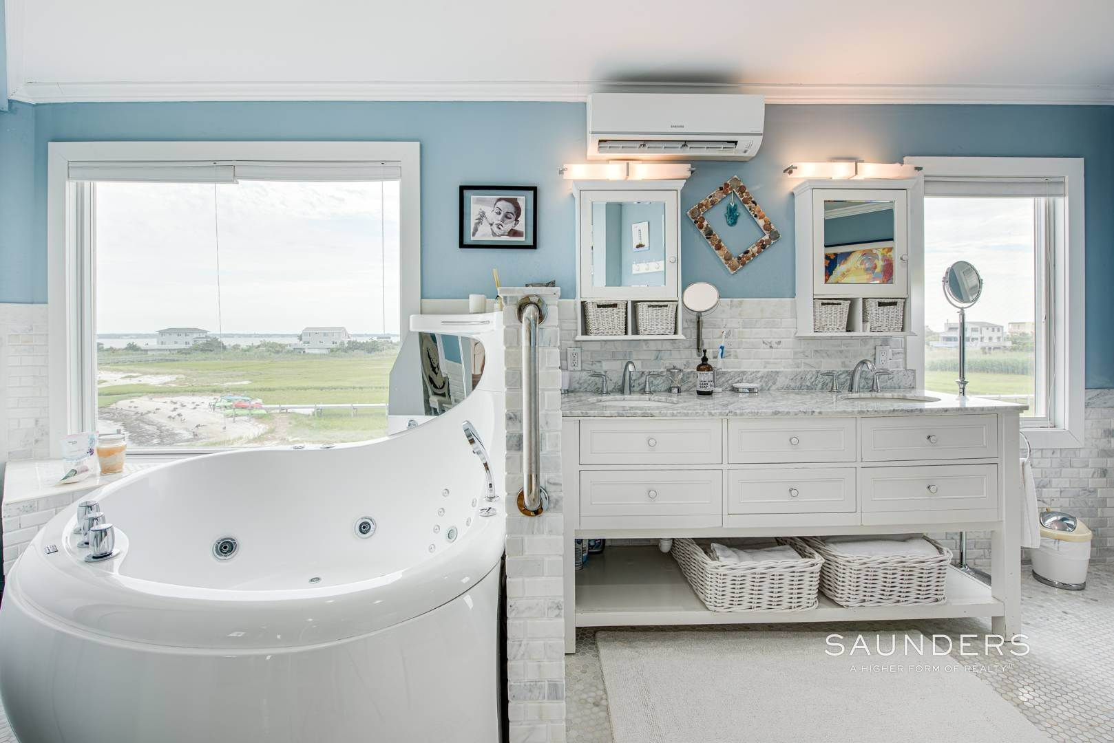 18. Single Family Homes for Sale at Bayfront Paradise 570 Dune Road, Westhampton, Southampton Town, NY 11977