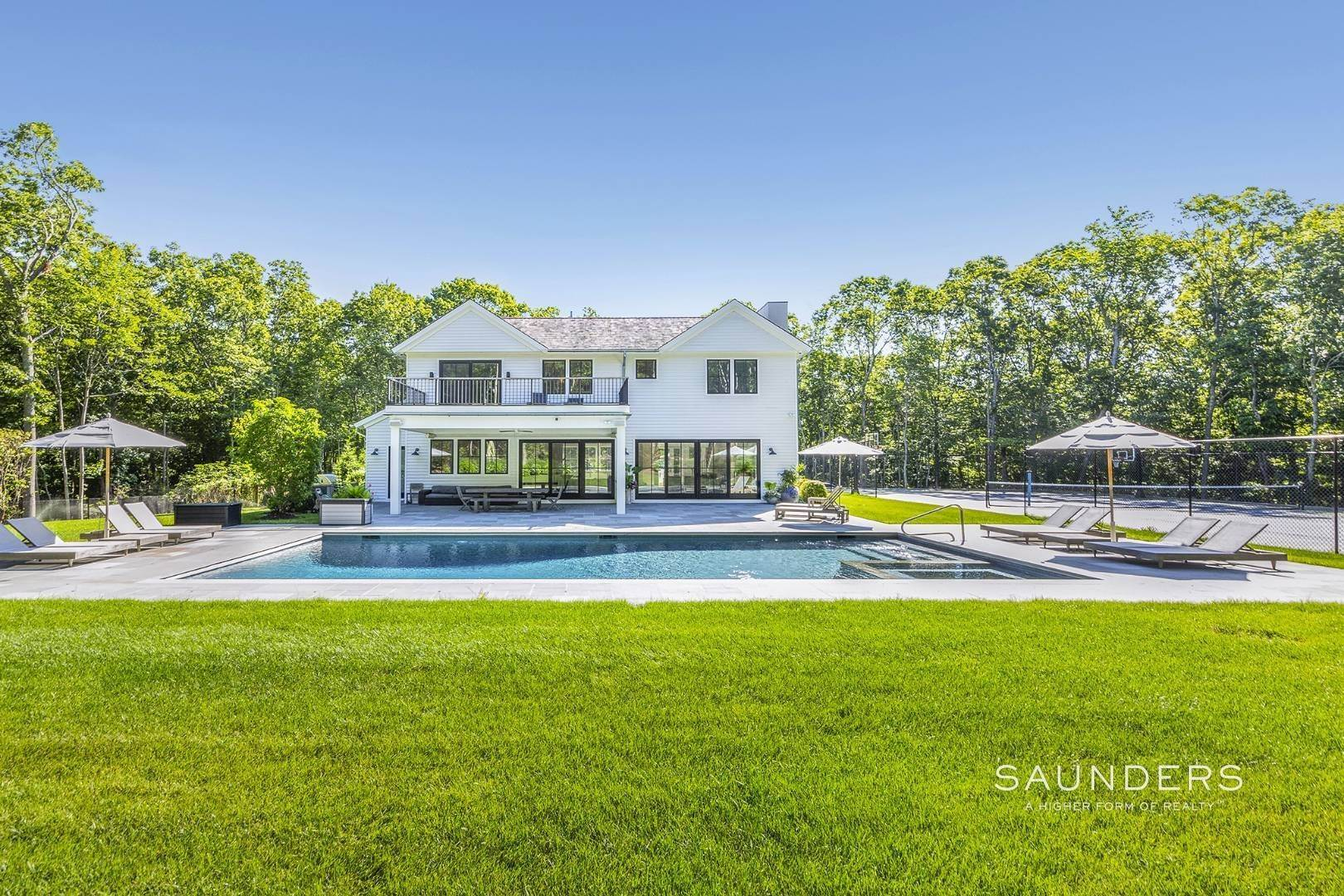 Single Family Homes at Modern Beach Compound 375 Brick Kiln Road, Bridgehampton, Southampton Town, NY 11963