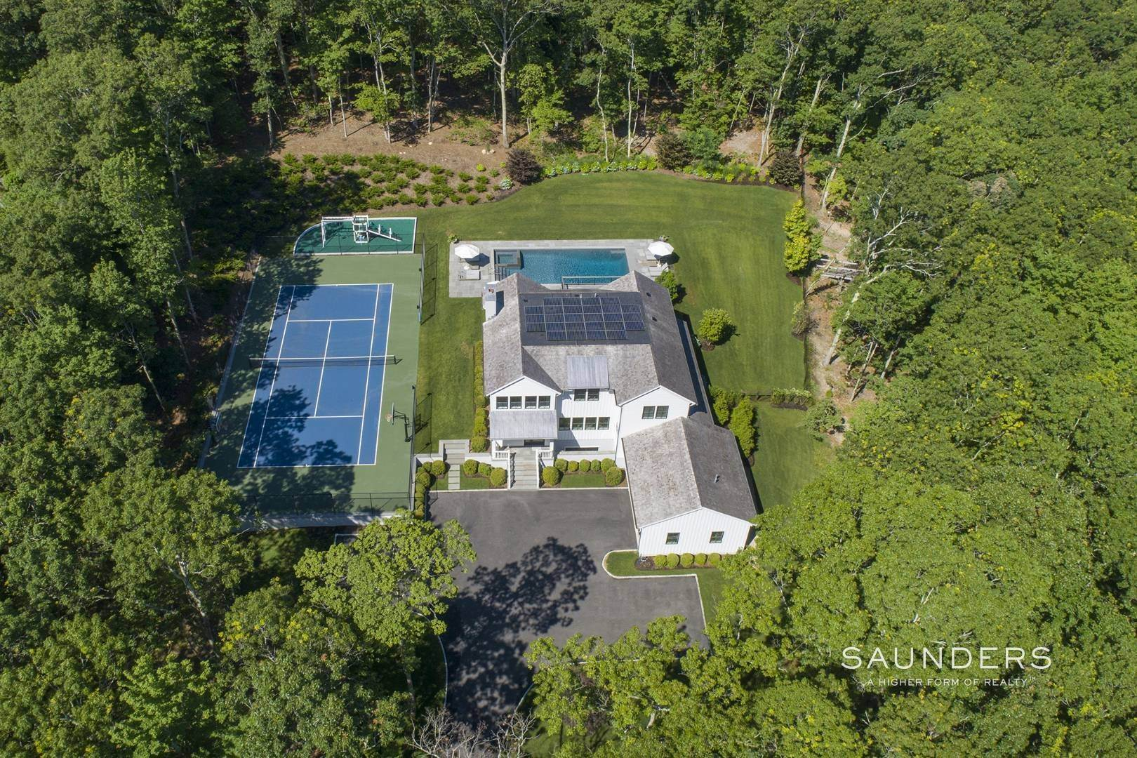 Single Family Homes for Sale at Two House Modern Compound 375 Brick Kiln Road, Bridgehampton, Southampton Town, NY 11932