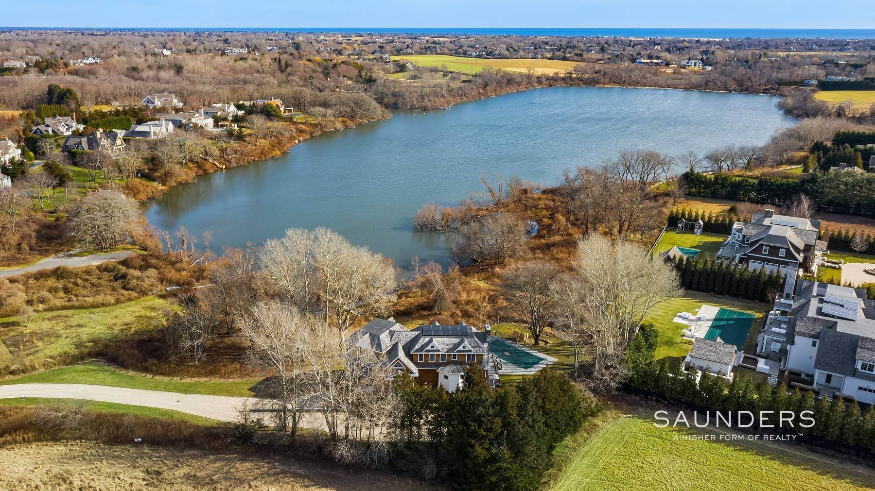 28. Single Family Homes at On Kellis Pond Bridgehampton, Southampton Town, NY 11932