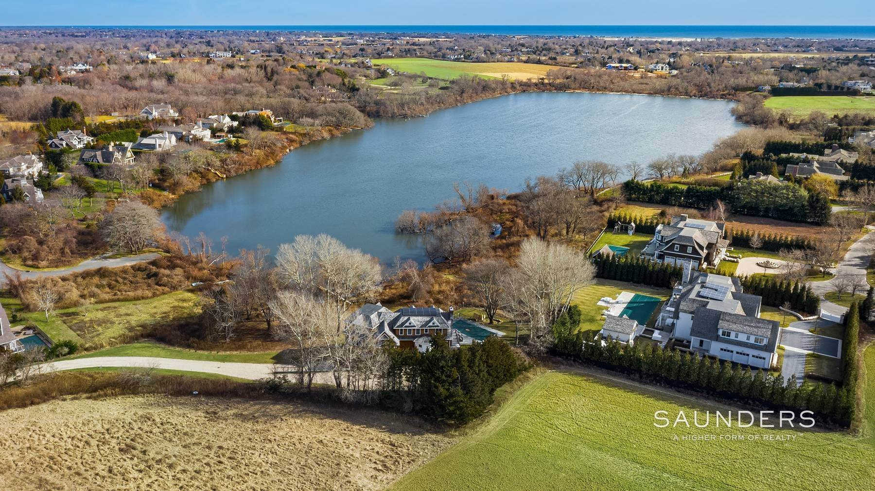 29. Single Family Homes at On Kellis Pond Bridgehampton, Southampton Town, NY 11932