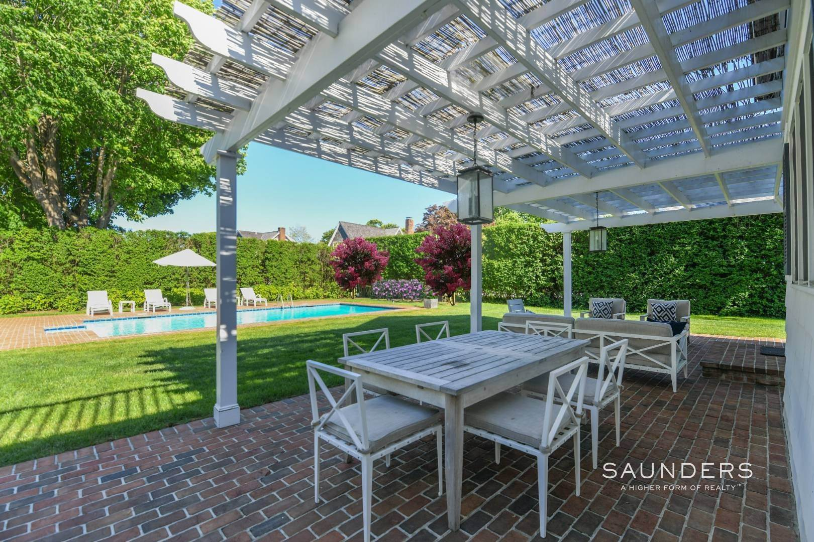 5. Single Family Homes for Sale at Perfect Southampton Village Home With Pool Southampton, Southampton Town, NY 11968