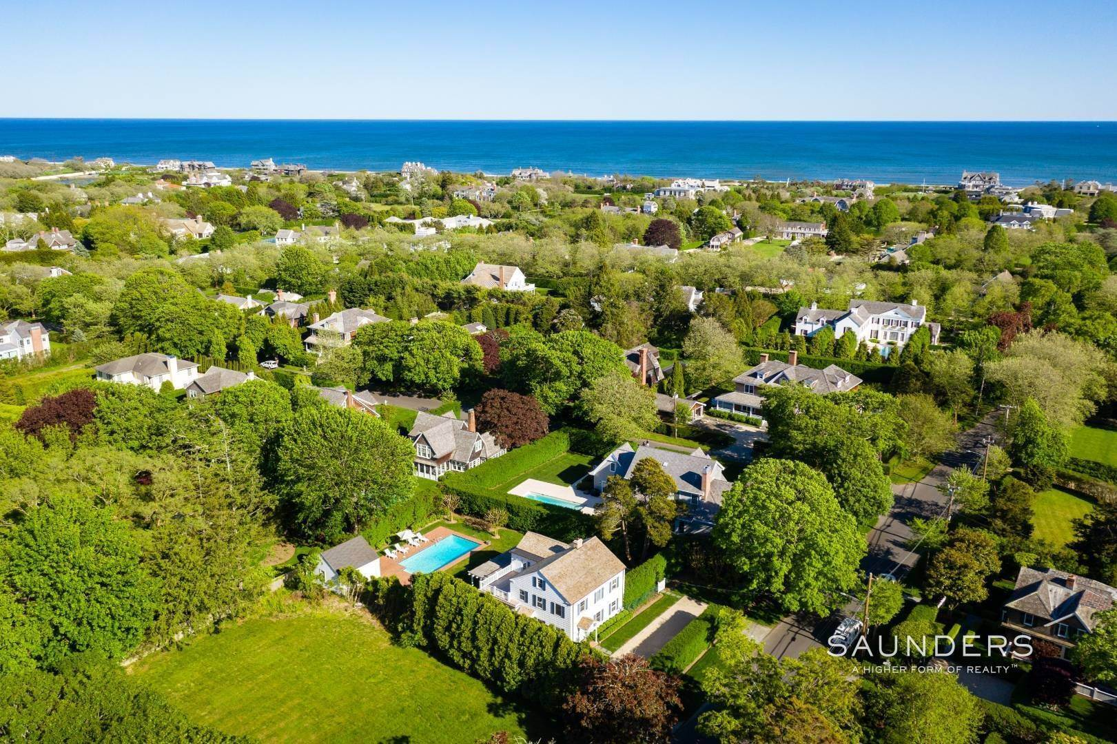 25. Single Family Homes for Sale at Perfect Southampton Village Home With Pool Southampton, Southampton Town, NY 11968