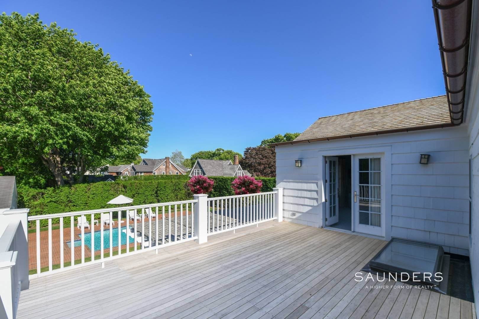 6. Single Family Homes for Sale at Perfect Southampton Village Home With Pool Southampton, Southampton Town, NY 11968