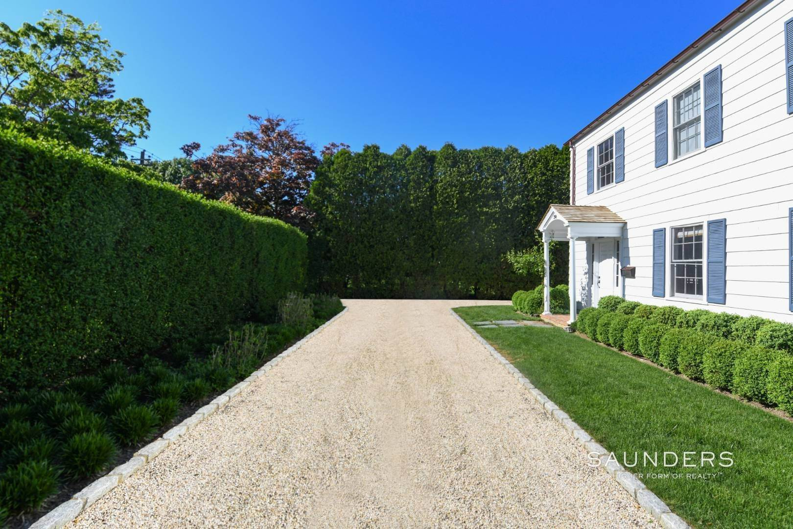2. Single Family Homes for Sale at Perfect Southampton Village Home With Pool Southampton, Southampton Town, NY 11968