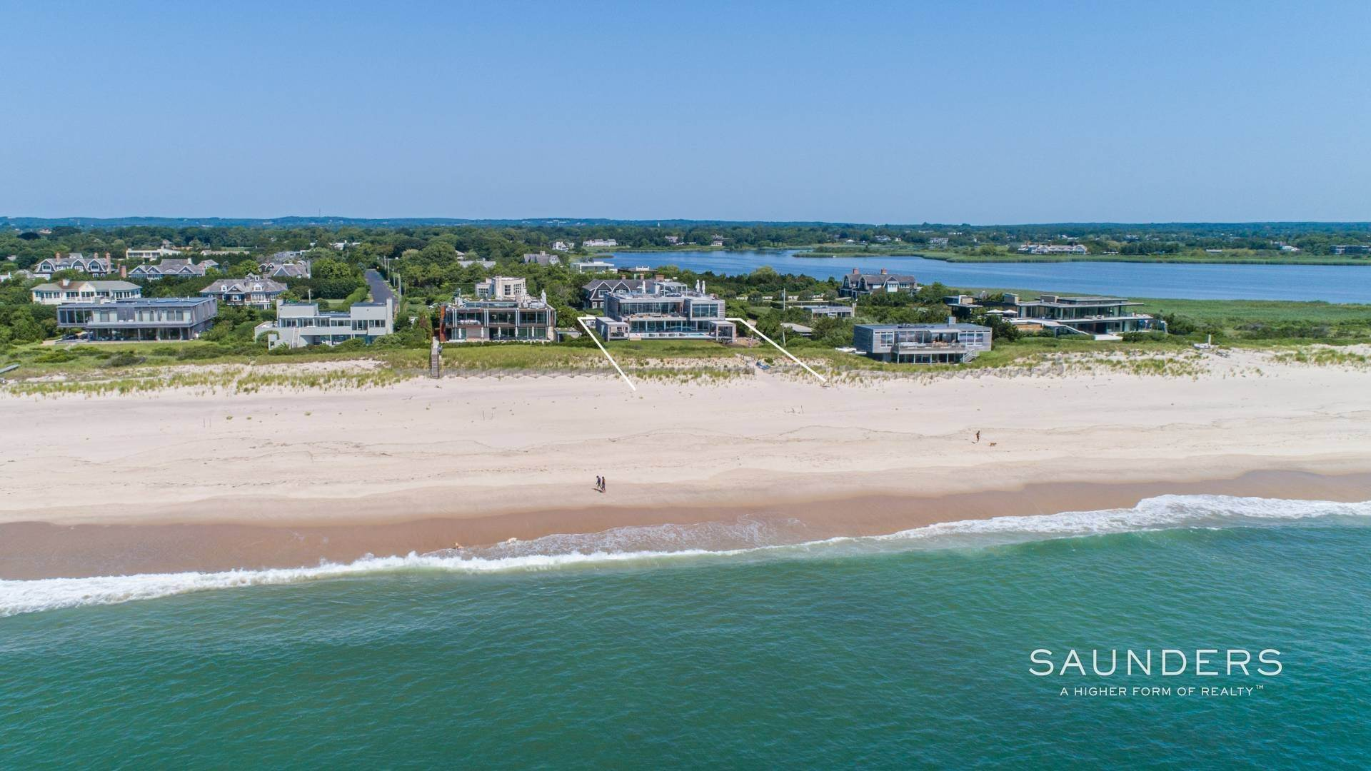 Single Family Homes at Bridgehampton Oceanfront New Construction Ultimate Luxury 277 Surfside Drive, Bridgehampton, Southampton Town, NY 11932